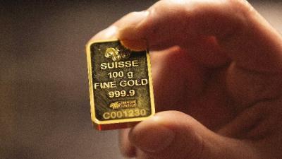 Vàng thế giới xuống thấp nhất trong 1 tháng rưỡi