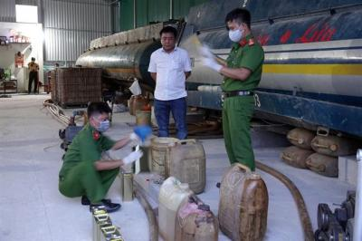 Công an Bình Thuận triệt phá vụ án xăng dầu giả quy mô lớn